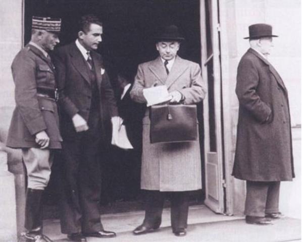 Pétain entre au gouvernement Reynaud