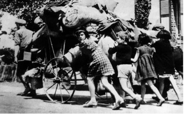 L'exode (mai-juin 1940)