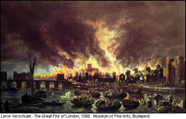 The Great London Fire