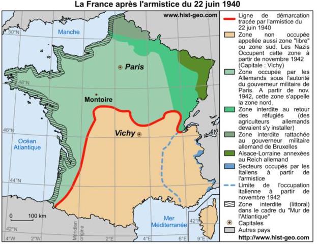 La France signe l'armistice