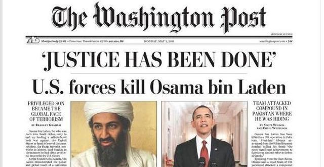 Osama bin Laden had been killed