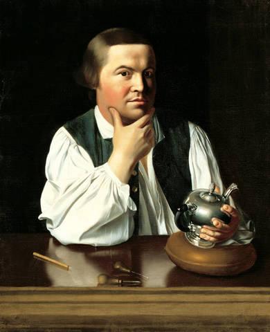 Paul Revere is born