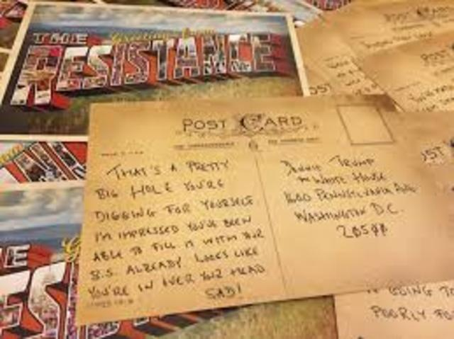 The First Postcard