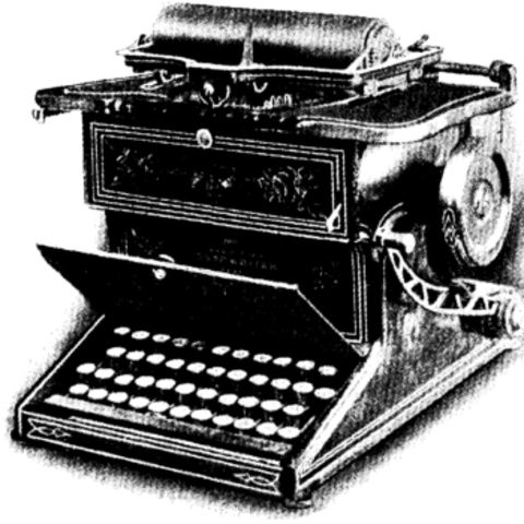 The typewriter is invented