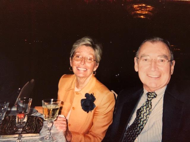 Met her husband, Peter