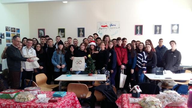 Εορταστική συνάντηση Περιβαλλοντικής και Erasmus+