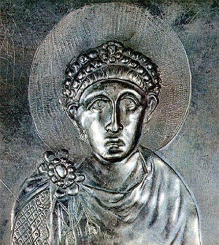 Le Christianisme devient religion officielle de l'Empire