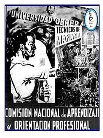 Creación de la Comisión Nacional de Aprendizaje y Orientación Profesional (CNAOP)