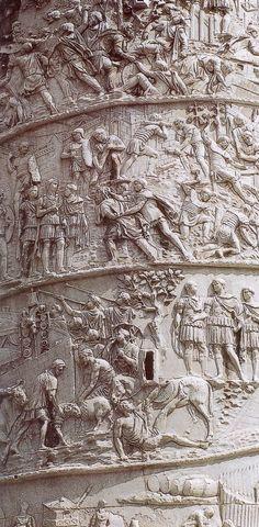 La victoire de Trajan sur les Daces