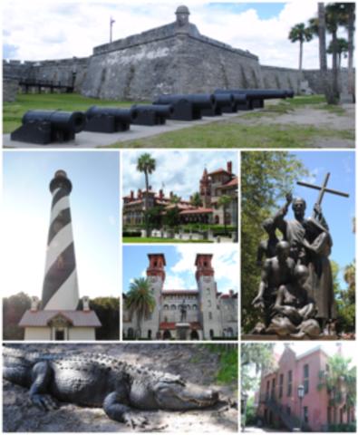 Intento británico de capturar San Agustín en Florida