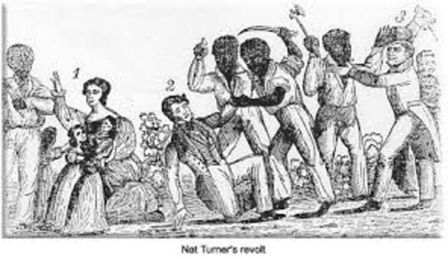 Nat Turner Slave Revolt