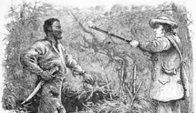 Nat Turner Slave Rebellion