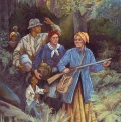 Harriett Tubman Escapes from Slavery
