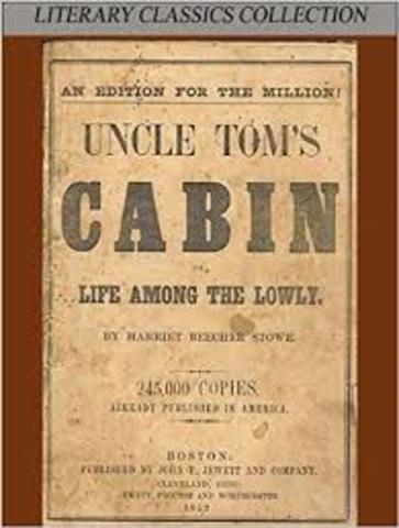 "Harriet Beecher Stowe Published ""Uncle Tom's Cabin"""