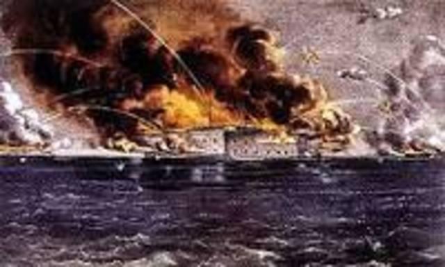 Firing at Fort Sumter