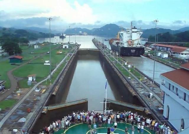 Panama Canal Beginning