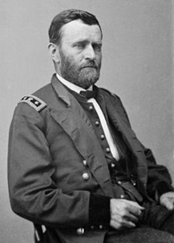 General U.S. Grant Assume Command of Union Troops