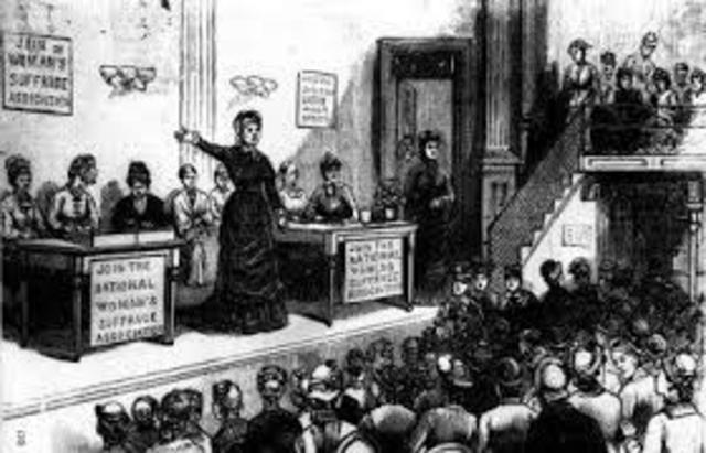 Women's Rights Convention At Seneca Falls
