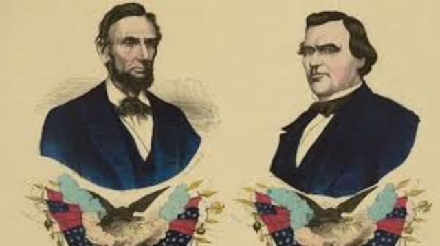 Abraham Lincoln reelected
