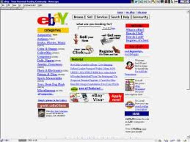 Nacimiento de Ebay
