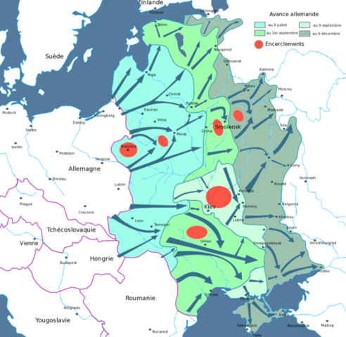 L'Allemagne nazie attaque l'URSS