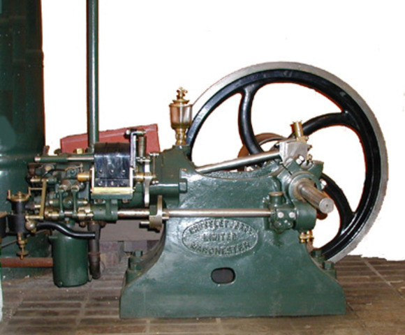 Invention of the internal combustion engine