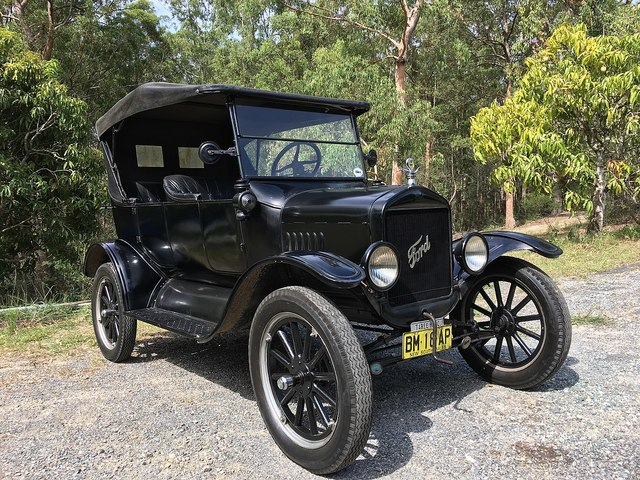 Ford Model T goes into production