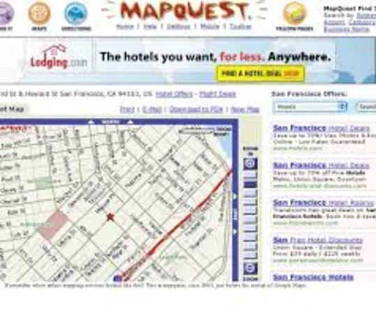 Aparecen los mapas online