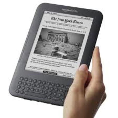 Amazon lanza su libro electrónico, Kindle