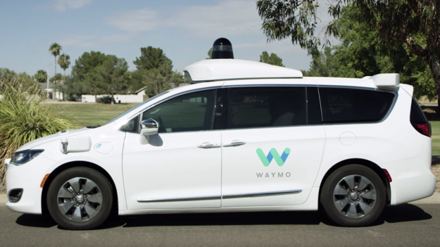 Self-Driving cars are used for public transport.