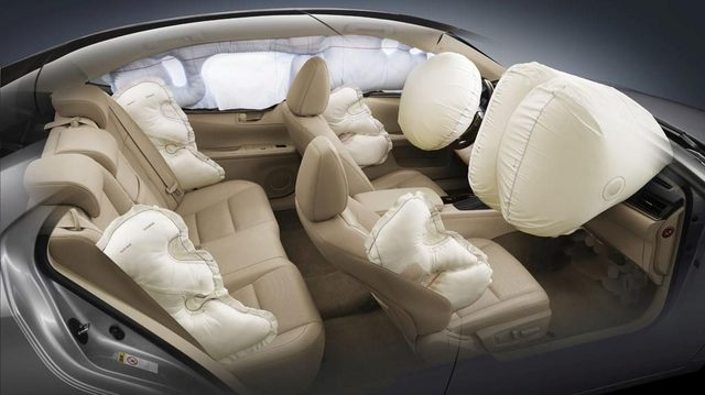 Air bags start appearing in automobiles.