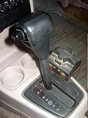 The first automatic transmission was developed