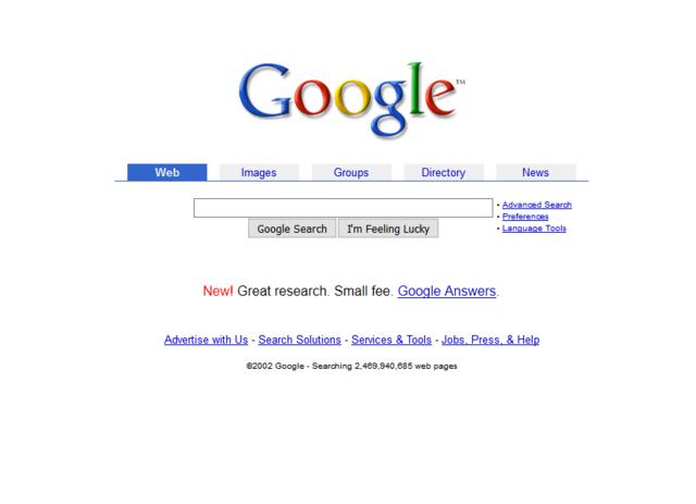 Google rey de los buscadores