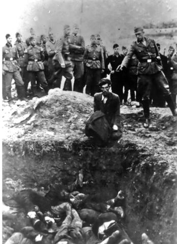 Eté 1941 : début du génocide juif sur le front de l'Est