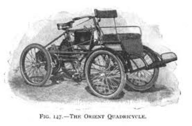 Comes out with Quadricycle