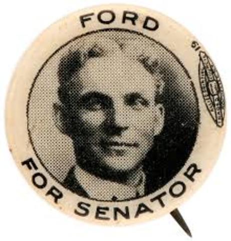 Ford for Senator