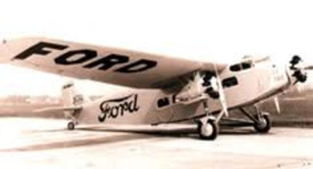 The tri-motor plane