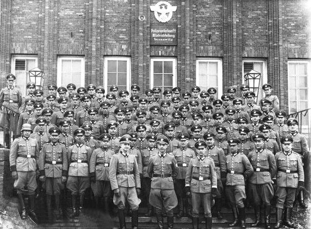 German troops enter Sosnowiec