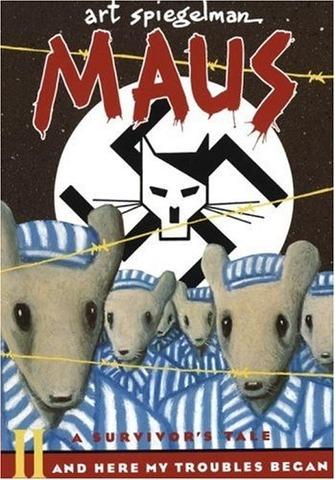 Maus Part II is written