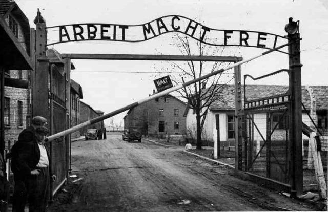 Auschwitz begins functioning