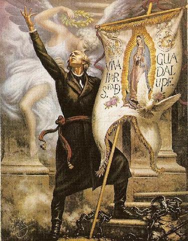 Father Miguel Hidalgo inspires revolution in Mexico