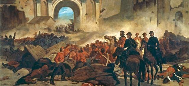 Garibaldi's Red Shirts capture Sicily
