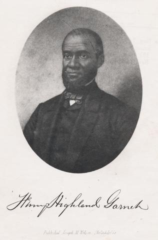 Henry Highland Garnet's Address to the Slaves of the United States of America