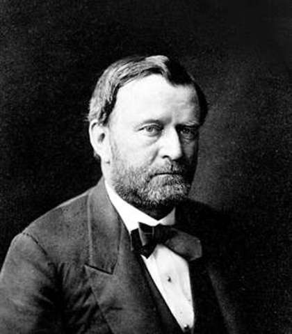 General U S Grant Assumed Control of Union Troops