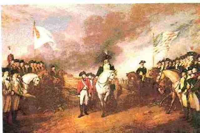The British Surrender