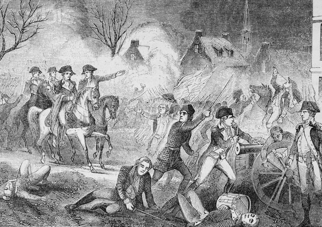 Christmas night- Battle of trenton
