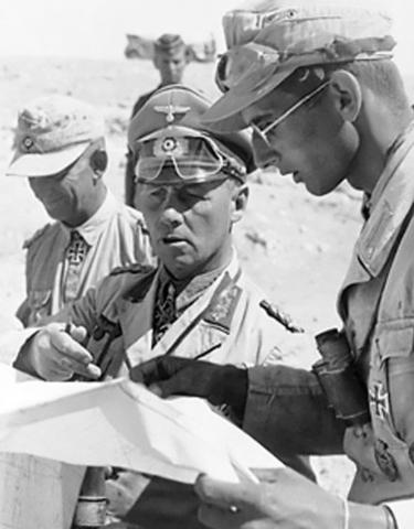 Offensive allemande en Egypte