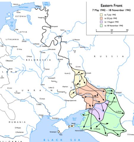 Offensive de la Wehrmacht en URSS