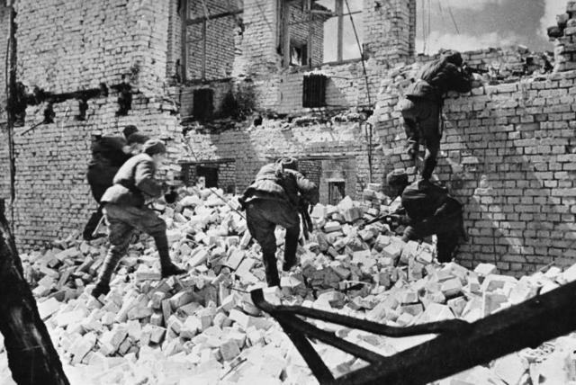 L'armée allemande encerclée à Stalingrad