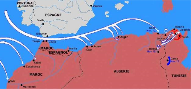Débarquement anglo-américain en Afrique du Nord